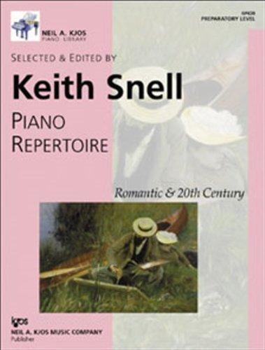 PIANO REPERTOIRE:ROMAMTIC+20TH N/A edition cover