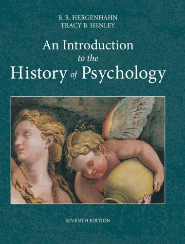 Introduction to the History of Psychology  7th 2014 9781133958093 Front Cover