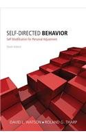 Self-Directed Behavior: Self-Modification for Personal Adjustment  2013 edition cover