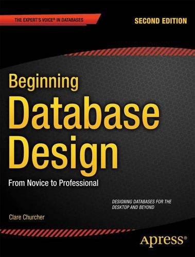 Beginning Database Design  2nd 2012 edition cover