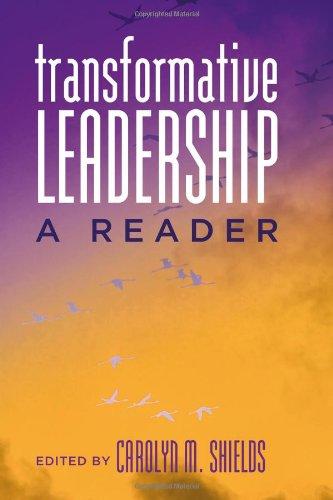 Transformative Leadership A Reader  2011 edition cover