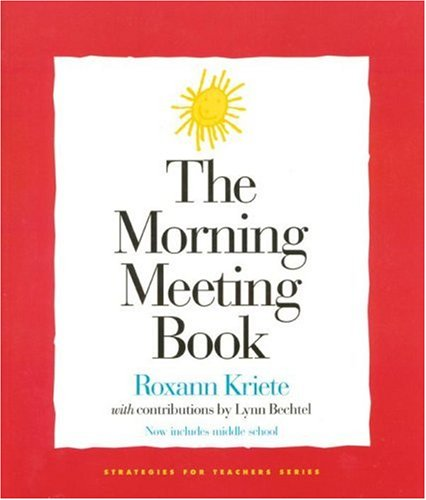 Morning Meeting Book  2nd 2002 (Expanded) edition cover