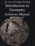 Introduction to Geometry Solutions Manual 2nd 2007 edition cover