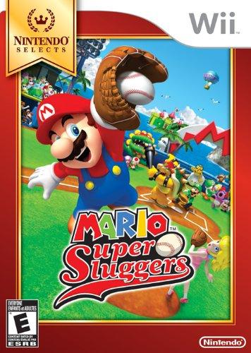 Nintendo Selects: Mario Super Sluggers Nintendo Wii artwork