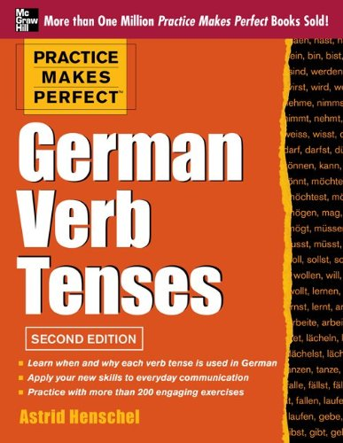 German Verb Tenses  2nd 2013 edition cover