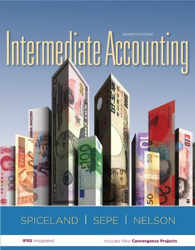 Intermediate Accouning  7th 2013 edition cover