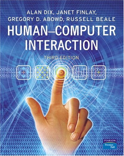 Human-Computer Interaction  3rd 2004 (Revised) edition cover