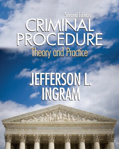 Criminal Procedure Theory and Practice 2nd 2009 edition cover