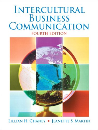 Intercultural Business Communication  4th 2007 (Revised) edition cover