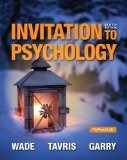 Invitation to Psychology Plus NEW MyPsychLab with Pearson EText -- Access Card Package  6th 2015 edition cover