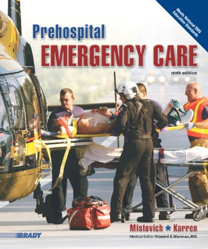 Prehospital Emergency Care  9th 2010 9780135028094 Front Cover