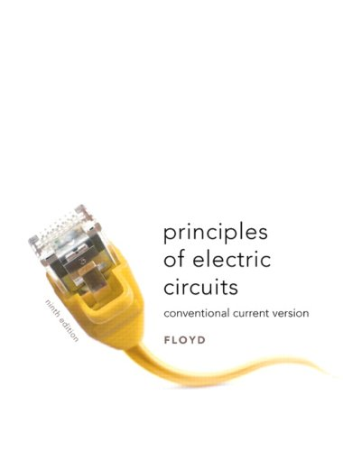 Principles of Electric Circuits Conventional Current Version 9th 2010 edition cover