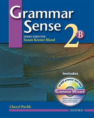 Grammar Sense  Student Manual, Study Guide, etc. 9780194397094 Front Cover