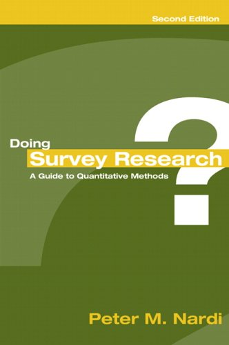 Doing Survey Research  2nd 2006 (Revised) edition cover