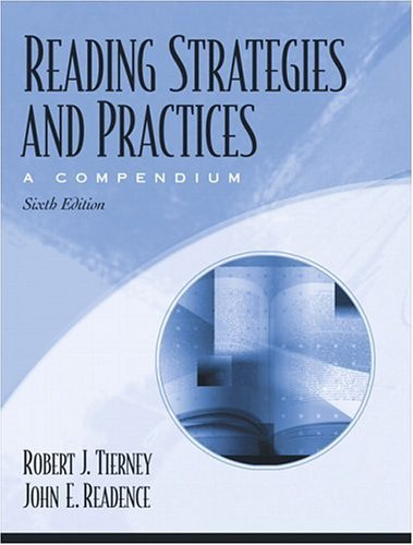 Reading Strategies and Practices A Compendium, MyLabSchool Edition 6th 2005 (Revised) 9780205459094 Front Cover