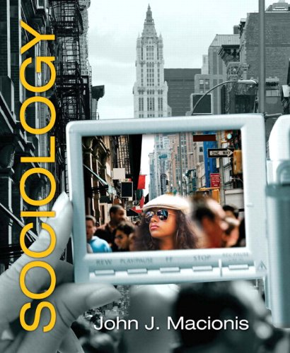 Sociology (with MySocLab Student Access Code Card)  13th 2010 9780205769094 Front Cover