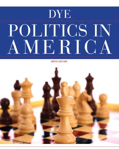 Politics in America  9th 2011 edition cover