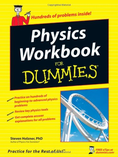 Physics Workbook for Dummies�   2007 edition cover