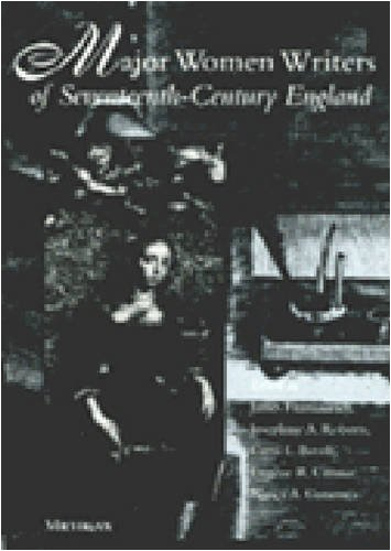 Major Women Writers of Seventeenth-Century England  N/A 9780472066094 Front Cover