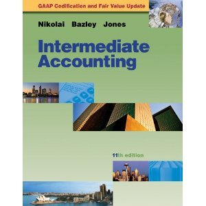 Intermediate Accounting Update Booklet  11th edition cover