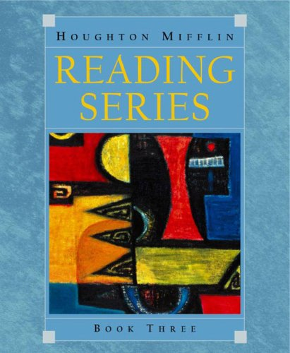 Houghton Mifflin Reading Series   2003 9780618110094 Front Cover