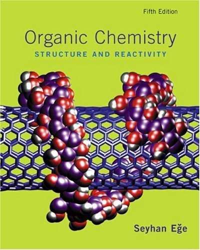 Organic Chemistry Structure and Reactivity 5th 2004 edition cover