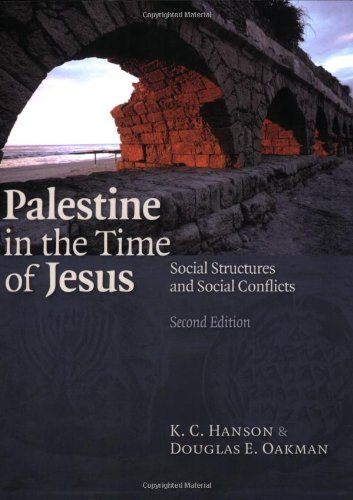 Palestine in the Time of Jesus Social Structures and Social Conflicts 2nd 2009 (Revised) edition cover