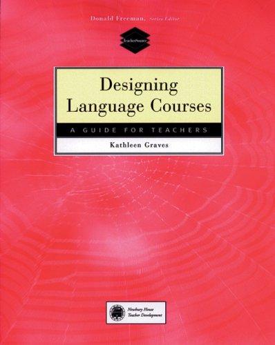 Designing Language Courses   2000 edition cover