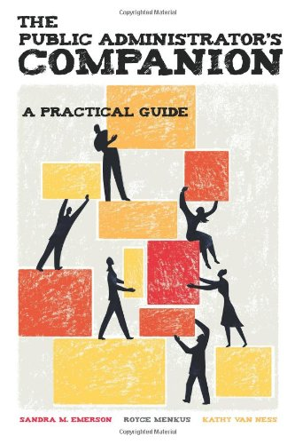 Public Administrators Companion A Practical Guide  2010 (Revised) edition cover