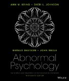Abnormal Psychology  13th 2015 9781118859094 Front Cover