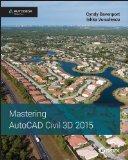 Mastering AutoCAD Civil 3D� 2015   2014 edition cover