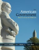American Government: Institutions and Policies  2014 edition cover