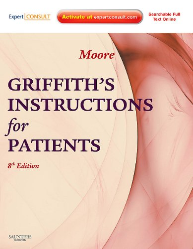 Griffith's Instructions for Patients Expert Consult - Online and Print 8th 2010 edition cover