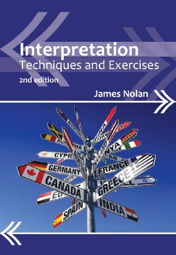 Interpretation Techniques and Exercises 2nd 2012 (Revised) 9781847698094 Front Cover