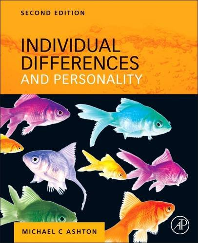 Individual Differences and Personality  2nd 2013 edition cover