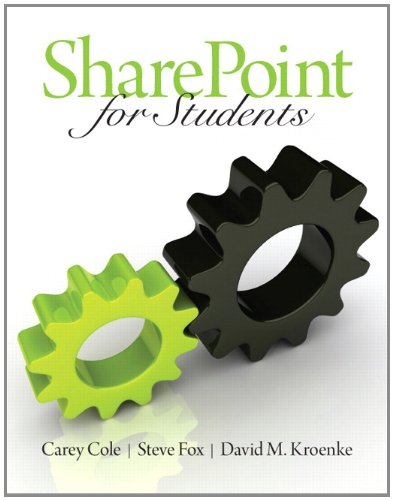 SharePoint for Students   2012 (Revised) edition cover