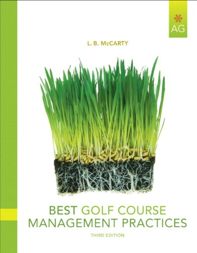 Best Golf Course Management Practices  3rd 2011 edition cover