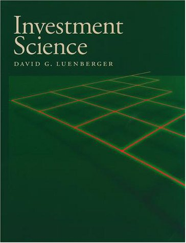 Investment Science   1998 edition cover