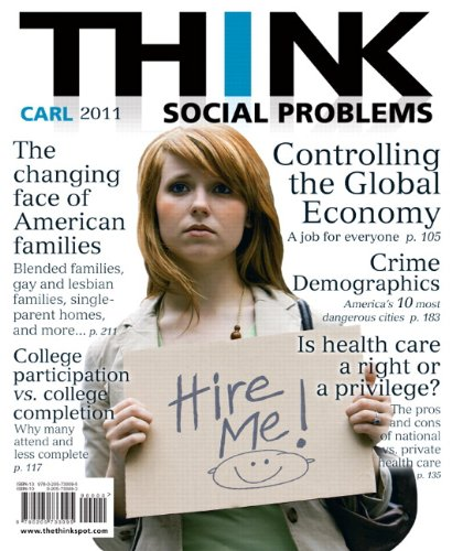 THINK Social Problems   2011 edition cover