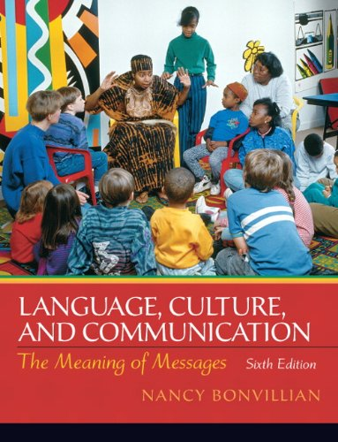 Language, Culture, and Communication The Meaning of Messages 6th 2011 edition cover