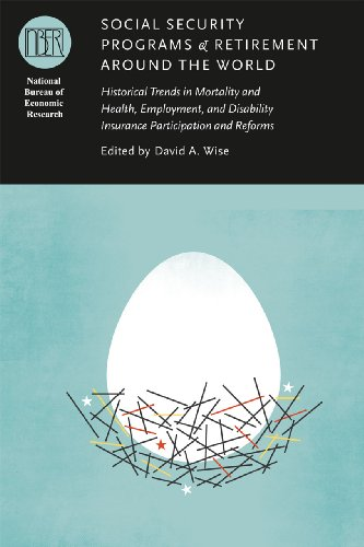 Social Security Programs and Retirement Around the World Historical Trends in Mortality and Health, Employment, and Disability Insurance Participation and Reforms  2012 9780226903095 Front Cover