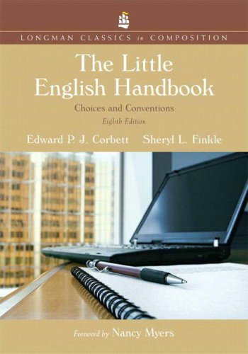 Little English Handbook Choices and Conventions 8th 2008 edition cover