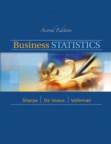 Business Statistics  2nd 2012 9780321716095 Front Cover