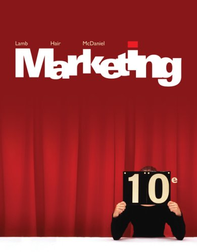 Marketing  10th 2009 edition cover