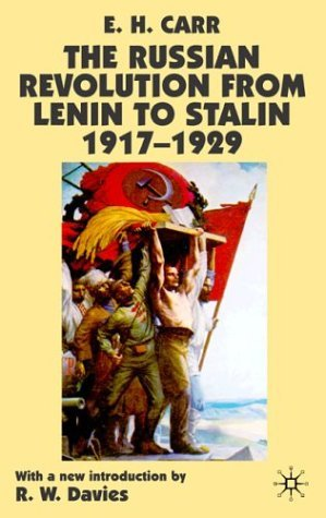 Russian Revolution from Lenin to Stalin, 1917-1929  2nd 1979 9780333993095 Front Cover