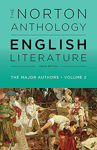 The Norton Anthology of English Literature, the Major Authors:  10th 2018 9780393603095 Front Cover