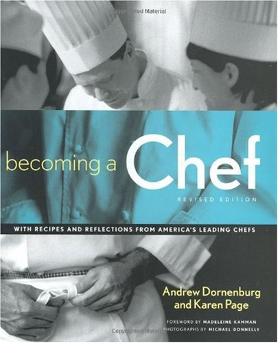 Becoming a Chef  2nd 2003 (Revised) edition cover