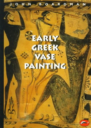 Early Greek Vase Painting   1998 edition cover