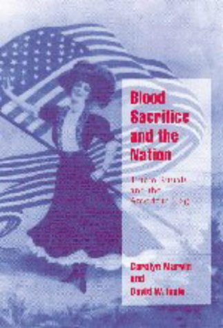 Blood Sacrifice and the Nation Totem Rituals and the American Flag  1998 edition cover
