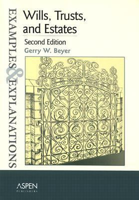 Wills, Trusts and Estates  2nd 2002 (Student Manual, Study Guide, etc.) edition cover
